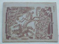 Zemánek - Práce ze šišek a větví (1923)