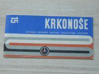 Automapa 15 - 1 : 200 000 - Krkonoše (1971)