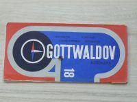 Automapa 18 - 1 : 200 000 - Gottwaldov (1974)
