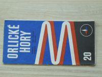 Automapa 20 - 1 : 200 000 - Orlické hory (1974)