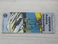Edicia Turistických máp 20 - 1 : 50 000 - Západné Tatry / Roháče - Letná turistická mapa (1987)