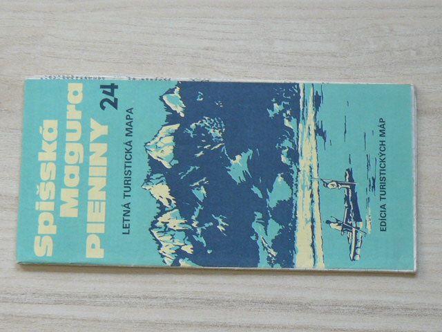 Edicia Turistických máp 24 - 1 : 100 000 - Spišská Magura / Pieniny - Letná turistická mapa (1985)