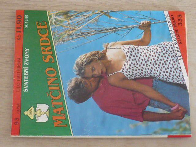 Matčino srdce 93 - Hallerová - Svatební zvony (1994)