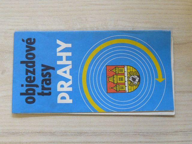 Objezdové trasy Prahy 1 : 200 000 (1989)