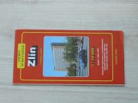 Plán města 1 : 10 000 - Zlín s mapou okolí (1996 / 1997)