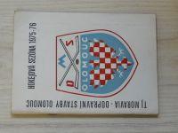 Program - TJ Moravia - Dopravní stavby Olomouc Hokejová sezóna 1975-76