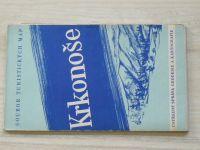 Soubor turistických map 1 : 75 000 - Krkonoše (1959)