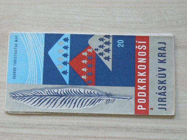 Soubor turistických map 20 - 1 : 100 000 - Podkrkonoší a Jiráskův kraj (1975)