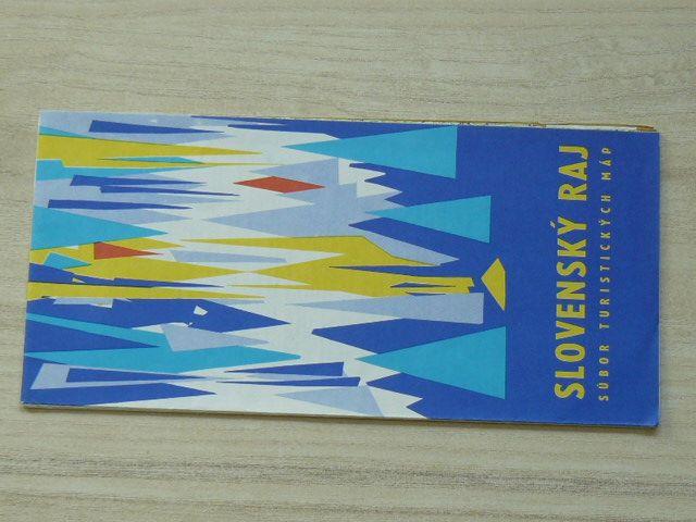 Súbor turistických máp - 1 : 100 000 - Slovenský raj - Letná mapa (1974) slovensky