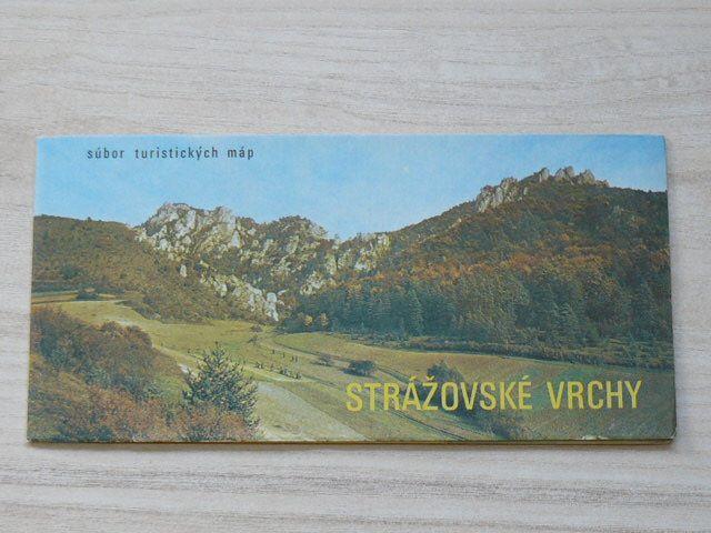 Súbor turistických máp - 1 : 100 000 - Strážovské vrchy - Letná turistická mapa (1973) slovensky