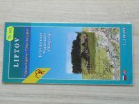 Turistická mapa - 1 : 100 000 - Liptov - 7 dní na Liptove (2002)