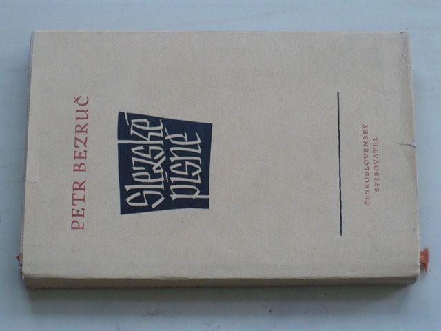Bezruč - Slezské písně (1953) podpis autora