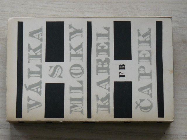 Čapek - Válka s mloky (Borový 1949) ob. Seydl