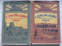 Hříbek - V zemi Lva a Slunce - Črty z cest napříč Persií, I. II. (1927)