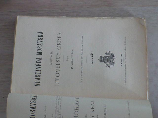 Pinkava - Vlastivěda Moravská - Litovelský okres (1903)