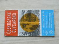 Turistická mapa - 1 : 50 000 - Českosaské Švýcarsko (1979)