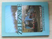Železnice v československé dopravní soustavě (1989)