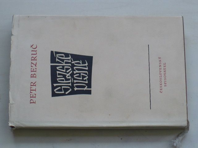 Bezruč - Slezské písně (1952) podpis autora