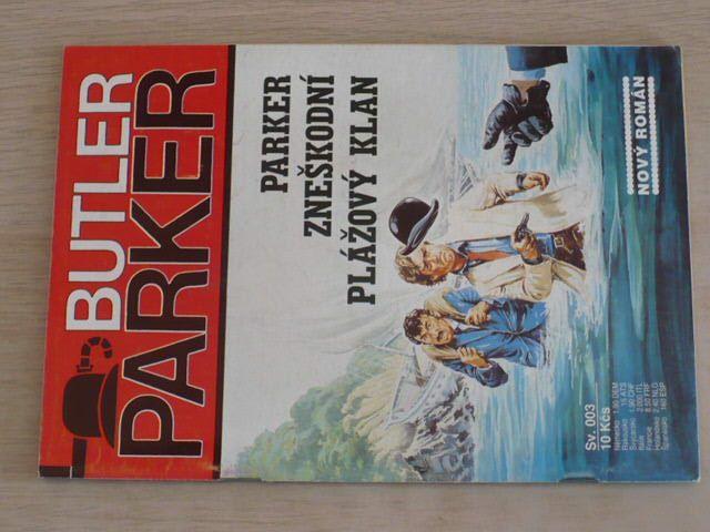 Butler Parker sv. 003 - Parker zneškodní plážový klan (nedatováno)