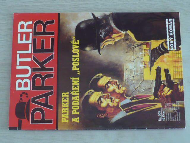 """Butler Parker sv. 005 - Parker a podaření ,,poslové"""" (nedatováno)"""