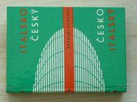 Hodr - Italsko - český / česko  - italský kapesní slovník (1990)