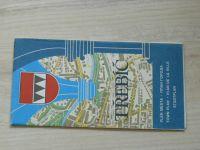 Plán města 1 : 10 000 - Třebíč (1984)