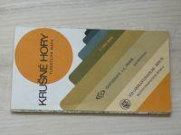 Turistická mapa - 1 : 100 000 - Krušné hory (1976)