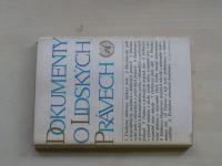 Dokumenty o lidských právech (1969)