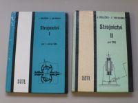Holoubek - Strojnictví I.II. (1984, 1985) 2 knihy