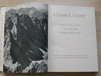 Houdek, Šimko - Vysoké Tatry (1951) foto Celba, Straka - slovensky