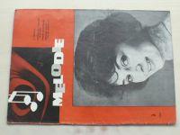 Melodie 1-12 (1965) ročník III. (chybí čísla 1, 4, 10, 9 čísel)