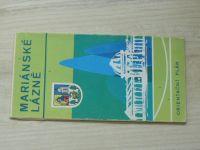 Orientační plán - 1 : 10 000 - Mariánské lázně (1974)