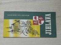 Orientační plán středu města 1 : 10 000 - Jihlava  (1973)