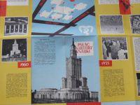 Palac kultury i nauki (Warszawa 1960) 40 x 57 cm - polsky