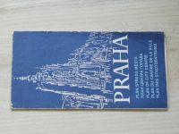 Plán středu města 1 : 15 000 - Praha (1981)