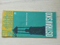 Soubor turistických map 21 - 1 : 100 000 - Ostravsko (1971)