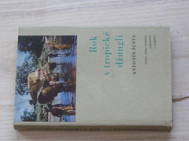 Šusta - Rok v tropické džungli - Cejlon očima montéra, cestovatele a potápěče (1974)