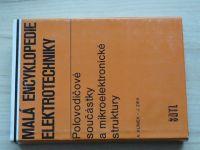 Klímek, Zíka - Malá encyklopedie elektrotechniky - Polovodičové součástky a mikroelektronické strukt