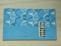 Lyžařská mapa - 1 : 100 000 - Jeseníky (1964)