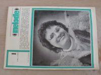 Melodie 1-12 (1979) ročník XVII. (chybí čísla 4-5, 7, 9 čísel)