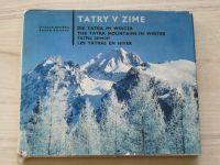 Nehera, Roubal - Tatry v zime (1970) slovensky, vícejazyčný text