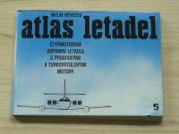 Němeček - Atlas letadel - Čtyřmotorová dopravní letadla s proudovými a turbovrtulovými motory (1984)