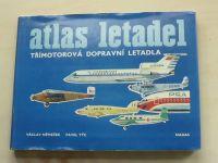 Němeček - Atlas letadel - Třímotorová dopravní letadla (1979)