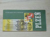 Orientační plán středu města 1 : 12 000 - Plzeň  (1975)
