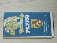 Plán města - 1 : 15 000 - Plzeň (1982)