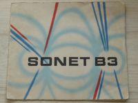 SONET B3 - Návod k použití, Tesla Přelouč - cívkový magnetofon