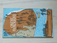 Soubor turistických map 1 : 100 000 - Okolí Berounky (1962)