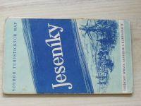Soubor turistických map 1 : 75 000 - Jeseníky (1959)