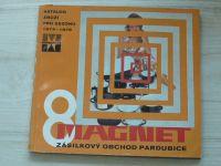 Magnet - Zásilkový obchod Pardubice - Katalog zboží 1974-1975