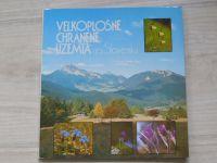Velkoplošné chránené územia na Slovensku (1981) slovensky